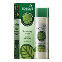 Био Утренний Нектар, Легкий питательный и увлажняющий лосьон для лица, Bio Morning Nectar, Biotique, 120 мл