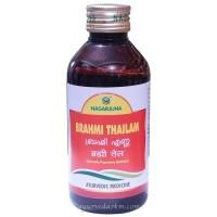 Массажное масло Брами, Брахми Тайлам Нагарджуна, Brahmi Tailam, 200 мл