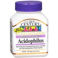 Acidophilus Смесь пробиотиков, 121st Century, 100 капсул