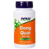 Дягиль лекарственный, Донг Куай (Анжелика) 520 мг, 100 растительных капсул