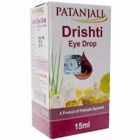 Глазные капли Дришти, Патанжали, Drishti eye drop, Patanjali, 15 мл