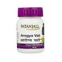 """Арогья вати Патанжали""""- лучшая помощь печени и всему организму, 80 таб Patanjali Arogya vati 40 gr"""