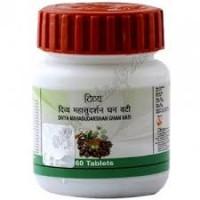 Махасударшан Гхан Вати - средство от простуды и для ЖКТ, MahaSudarshan DIVYA, 60 таб.