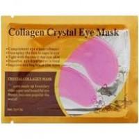 Гидрогелевые патчи для глаз против морщин с коллагеном и муцином улитки розовые