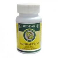 Канчнар гуггул №60 для лимфатической и эндокринной системы, GOODCARE PHARMA PVT. LTD