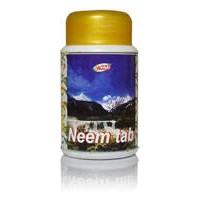 Ним таблетки Шри Ганга, Shri Ganga Neem Tab, 200шт (по 400мг)