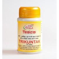 Трикунтак, здоровье почек, 100 таб, производитель Шри Ганга; Trikuntak, 100 tabs, Sri Ganga