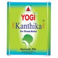 Йоги Кантика таблетки для горла, Yogi Kanthika pills, 140шт